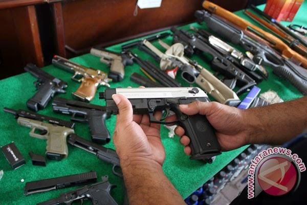 Kodim Ngawi amankan senpi terduga teroris Suyitno