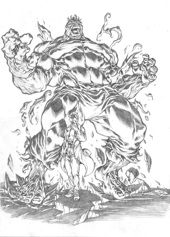 Hulk por pant