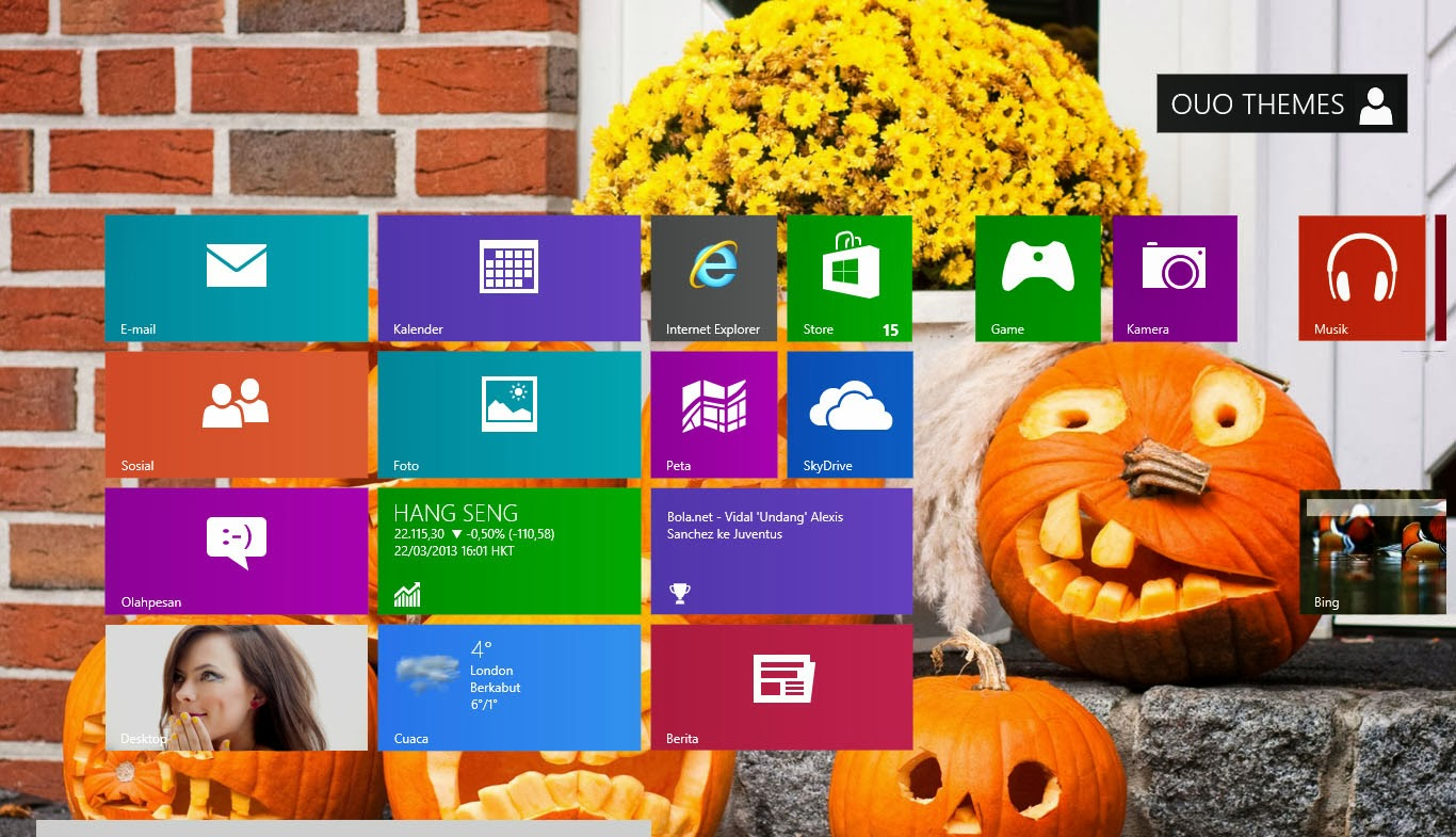 halloween theme for windows 7 and 8 81 - Windows 7 Halloween Theme