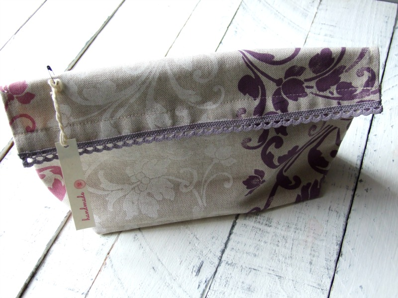 bolsa de aseo handmade