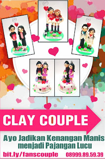 bikin clay untuk kado pacar