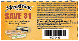 $1.00 Armstrong cheese