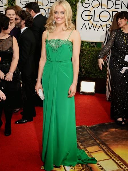 Тейлър Шилинг права рокля златен глобус 2014