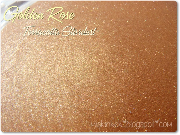 Golden Rose Terracotta Stardust Allık 101