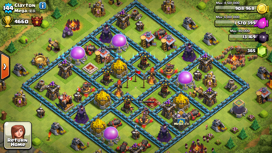 clash of clans unlimited gems version free download