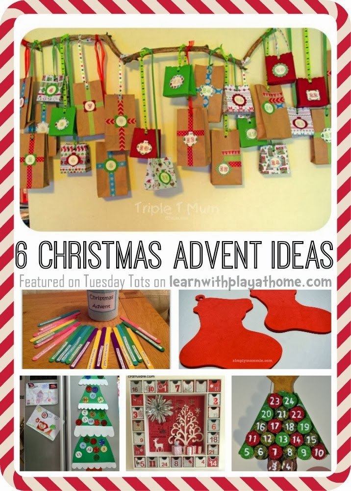 Advent Calendar Ideas Toddlers : Learn with play at home christmas advent ideas for kids