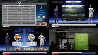 PES 2013 Menu and Graphic Patch by Fatih Kuyucak