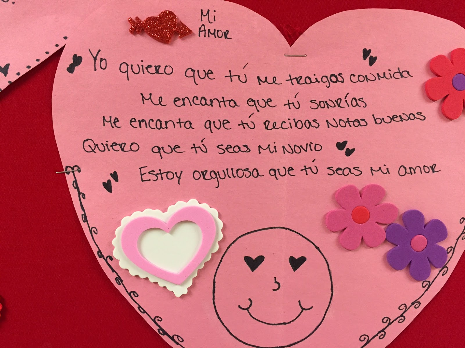 Teaching Spanish w Comprehensible Input Subjunctive Hearts in – Valentines Cards in Spanish