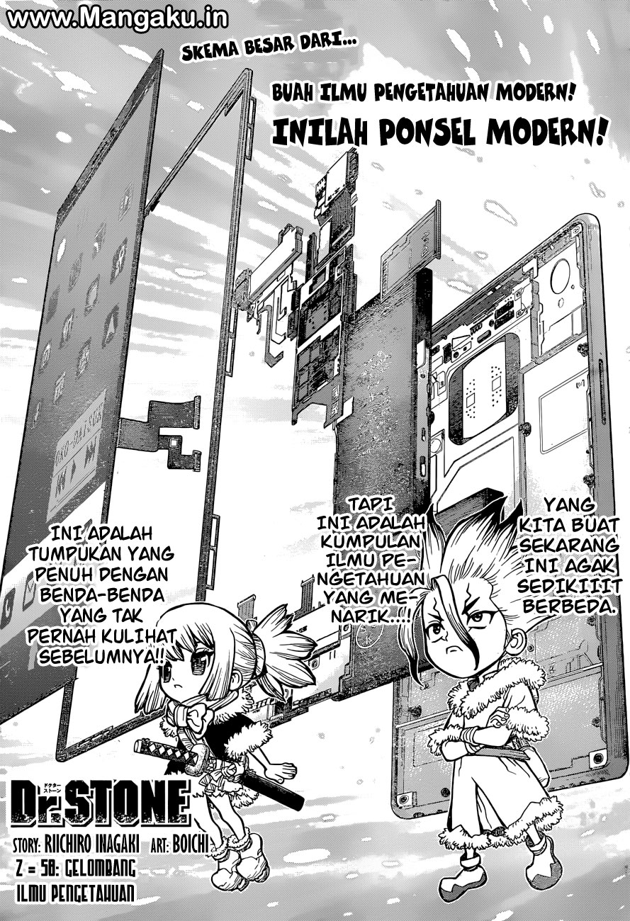 Dr. Stone Chapter 58-0
