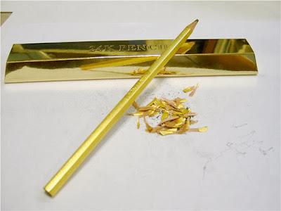 Gold Pencil