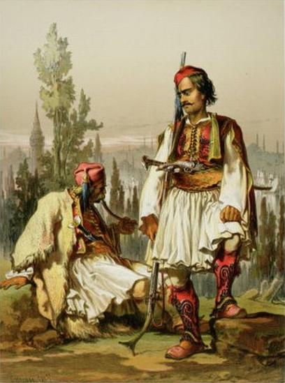 Περί Αλβανίας καί Αλβανών