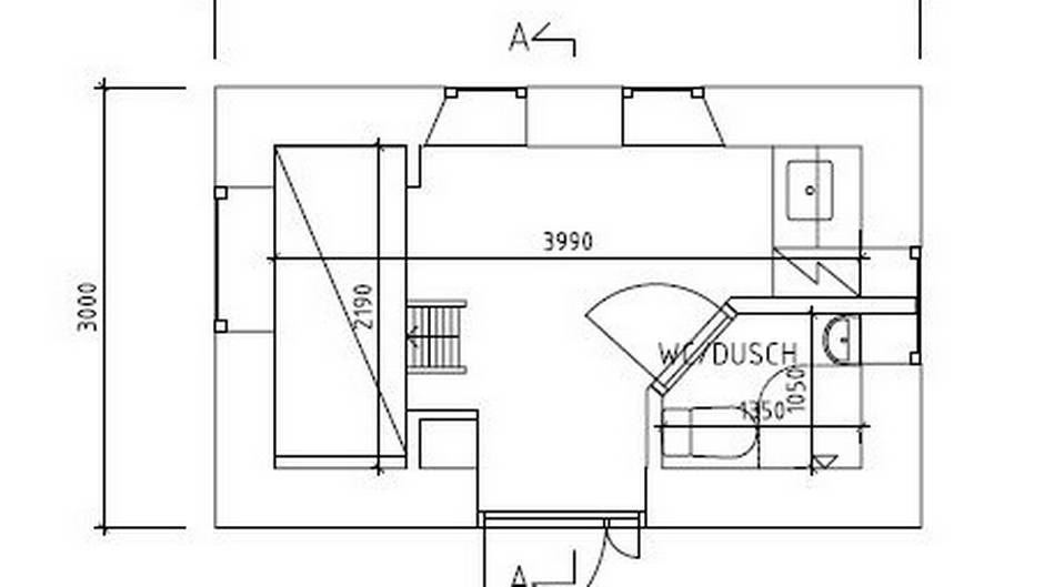 Baño Minusvalidos Dimensiones Minimas:Proyectotal: Vivienda de 88m2 ...