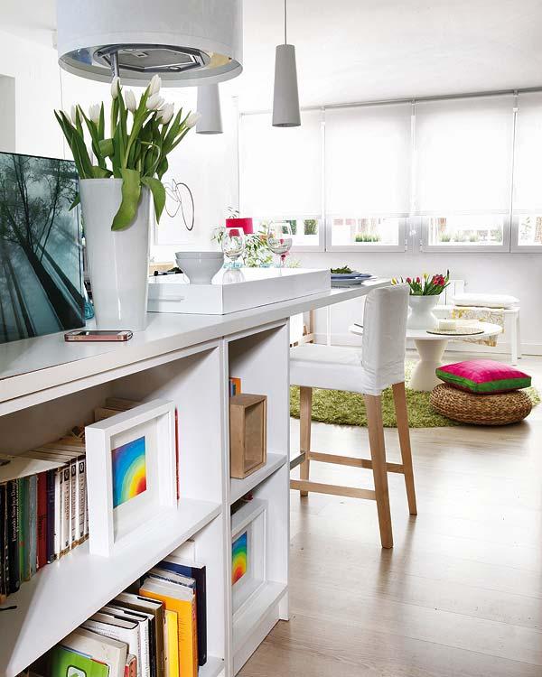 Blog achados de decora o apartamento decorado de 40m2 - Como decorar un bar pequeno ...
