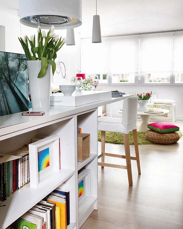 Blog achados de decora o apartamento decorado de 40m2 for Decorar piso 15 metros