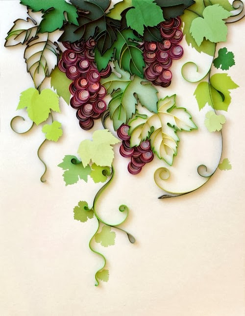 19-Grapes-Quilling-Paper-Art-PaperGraphic-www-designstack-co