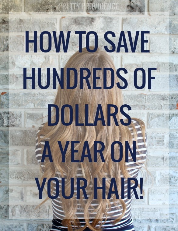 How To Save Hundreds Of Dollar a Year On Your Hair