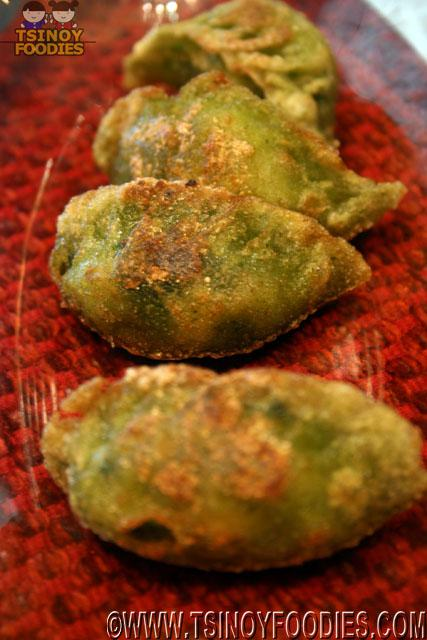 Shrimp and Spinach Dumpling