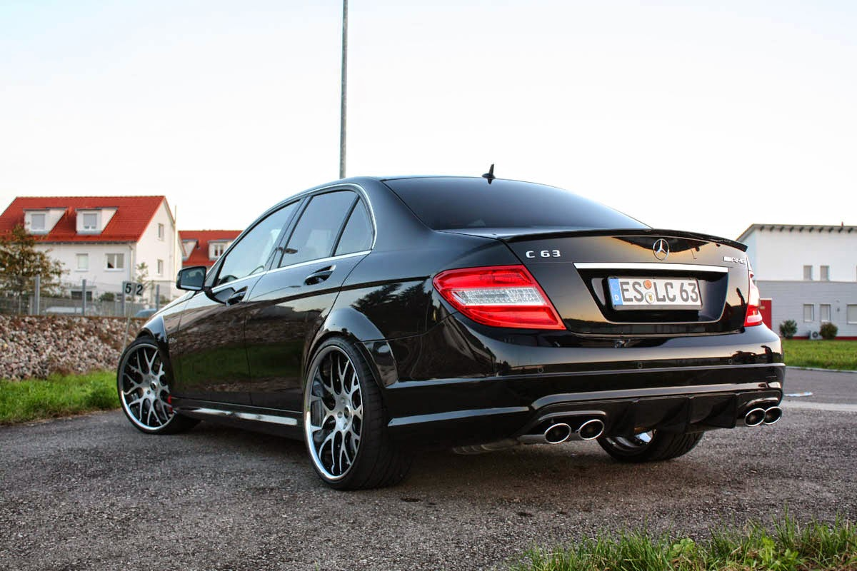 Mercedes benz c63 amg w204 on r20 moz wheels benztuning for C63 mercedes benz