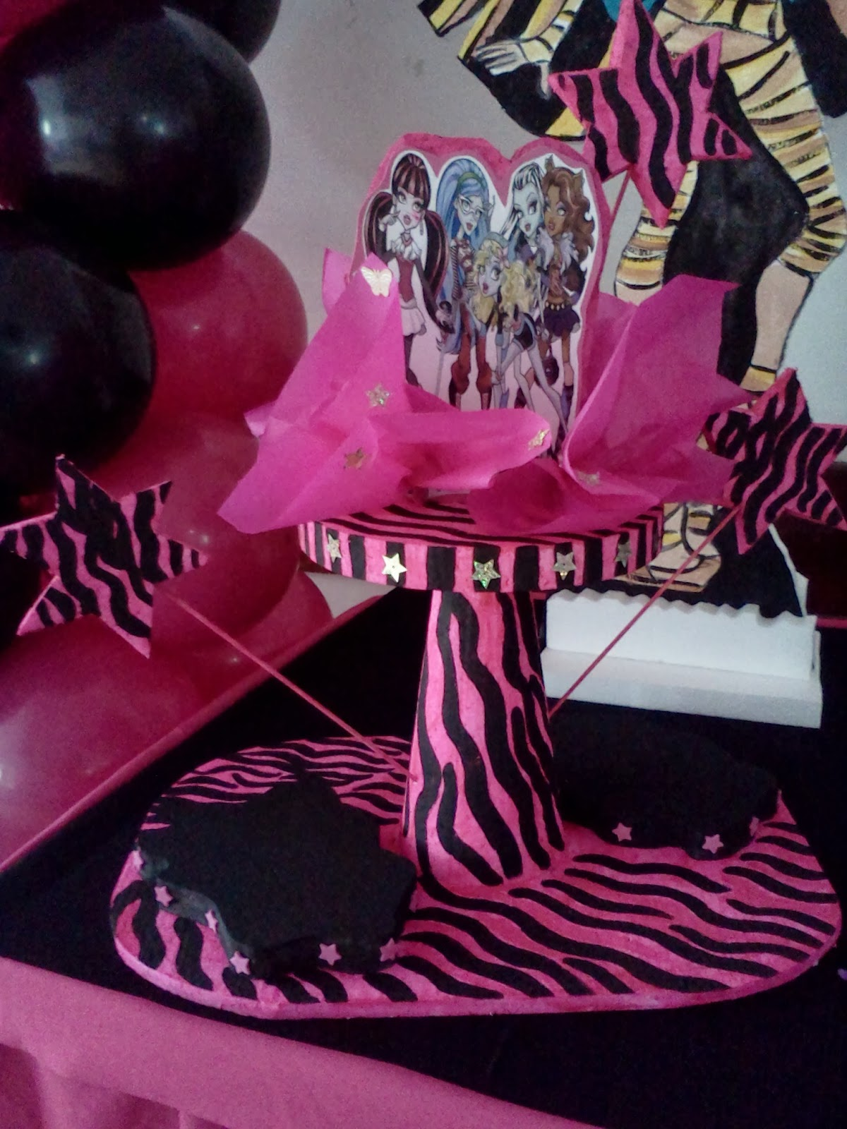 INVERSIONES EVENTSYS CA.: EL BOOM DE MONSTER HIGH: DECORACIÓN DE ...