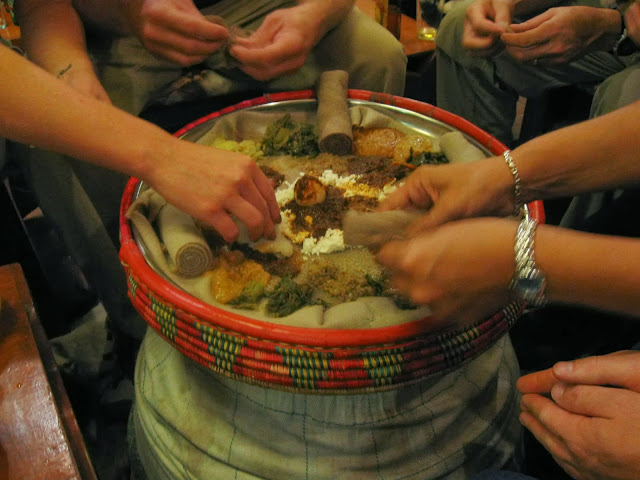 Foodathon for Cuisine you eat with your hands
