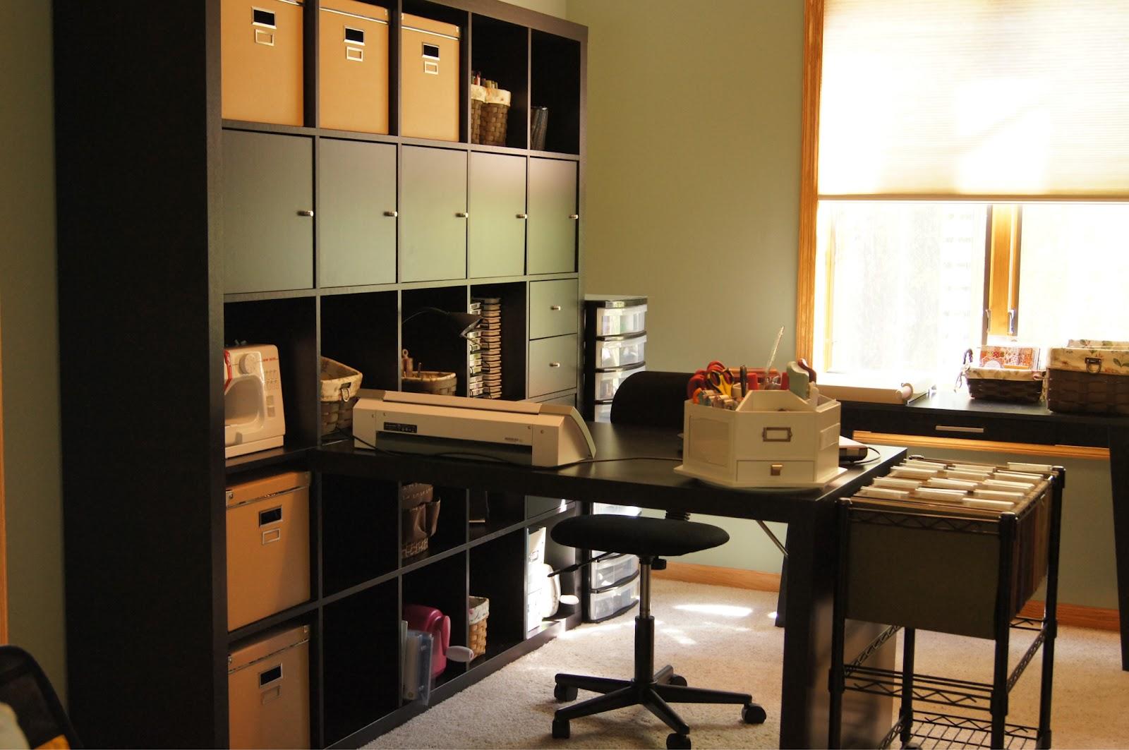 Gina k designs stamptv blog my little studio for Office design hacks