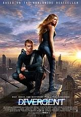 Carátula del DVD Divergente