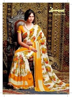 Indian Embroidered Sarees by Laxmipati
