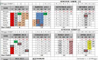 Kalender Pendidikan 2013/2014 Kabupeten Konawe Selatan