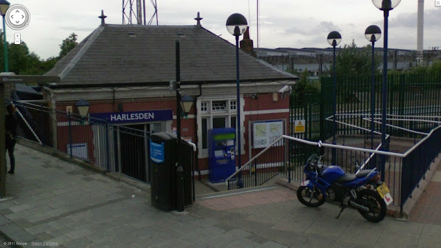 Harlesden station on the Bakerloo line of the London Underground