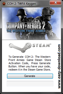 Company of Heroes 2: The Western Front Armies Keygen