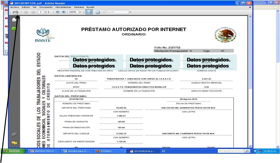 Sindicato nacional de jubilados y pensionados por el for Oficina virtual del issste