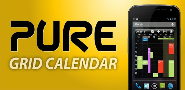 Pure Grid calendar widget v2.5.2 APK Free Download