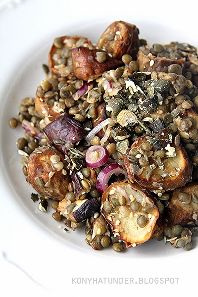 green_lentil_and_jerusalem_artichoke_salad