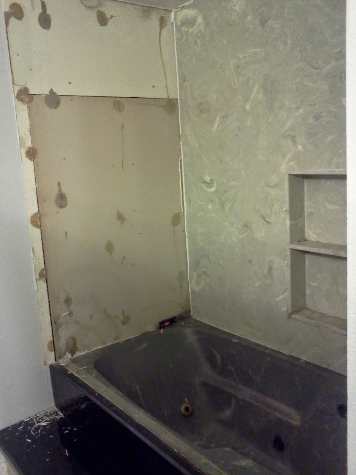remove shower walls