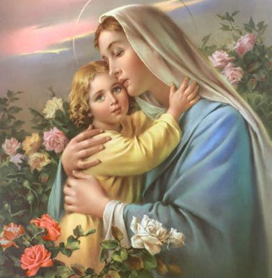La Virgen y el niño Jesús