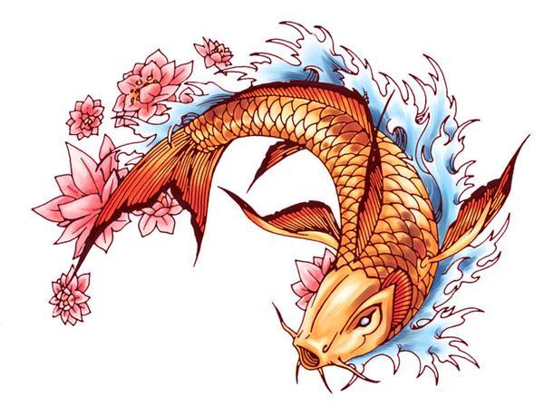 Tatuaes de pez koi completisimo fotos de tatuajes for Koi fish artists