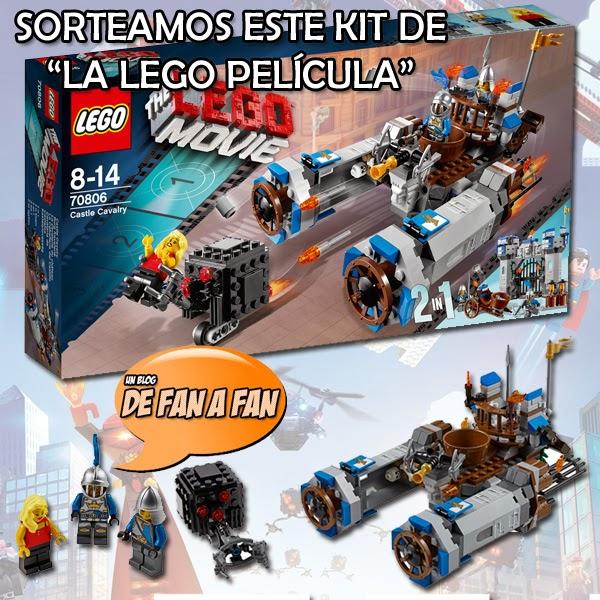 """Kit LEGO """"La Caballeria del Castillo"""""""