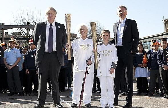 London 2012 Olympics:Map of Olympic torch relay route revealed