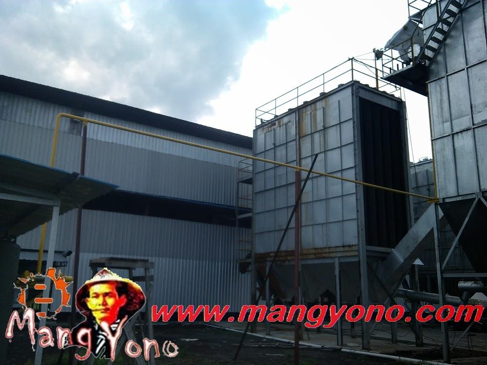 Pabrik peleburan timah PT. Wahana Parkit Jaya di Pulau Topang.