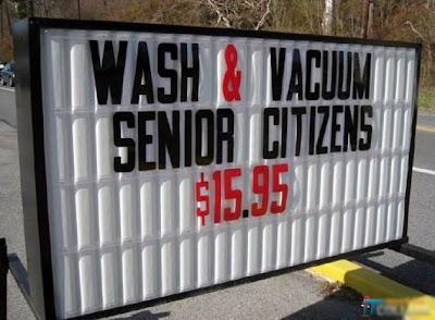 Wash senior citizens