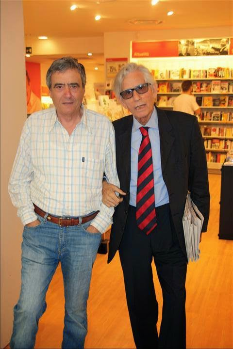 CON FRANCO TONTOLI GIUGNO 2014 ALLA FELTRINELLI DI CASERTA