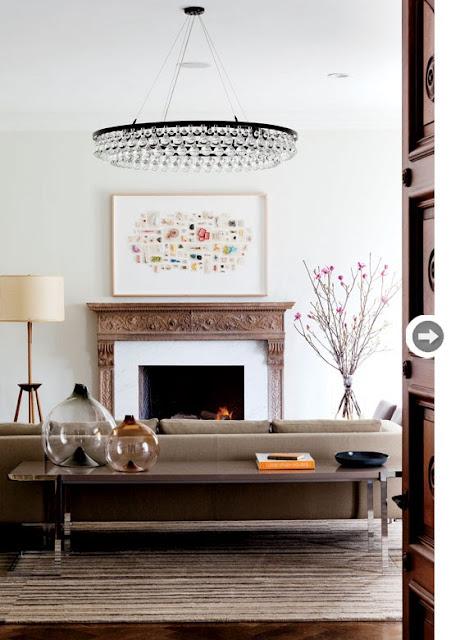 salon moderno blanco nordico estilo california