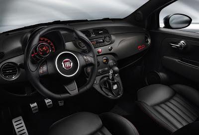 Fiat 500 GQ, gli interni della serie speciale in anteprima mondiale al Salone dell'Automobile di Ginevra