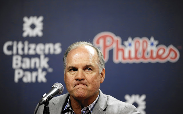 Ryne Sandberg resigns as Phillies Manager