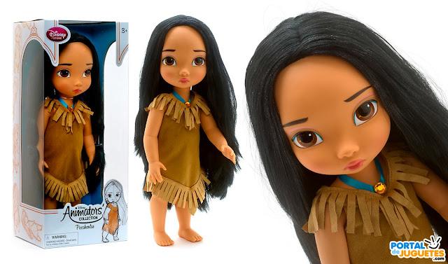 muñeca pocahontas coleccion disney animators nueva edicion