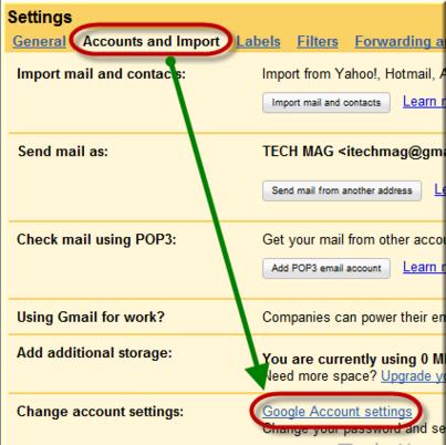 गूगल जीमेल अकाउंट को कैसे रद्द करें
