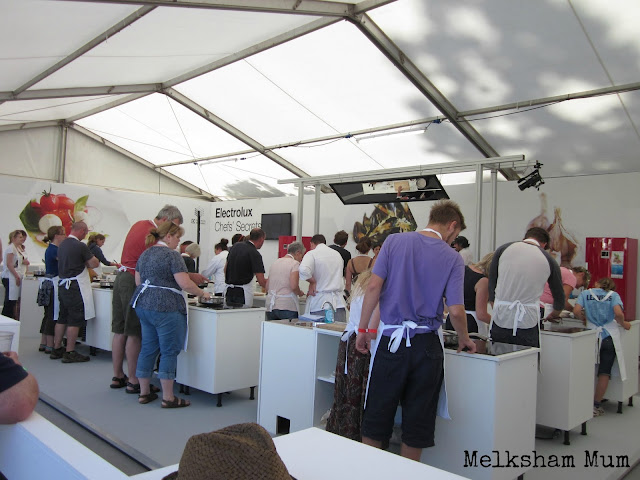 Cookery sessions at The Big Feastival 2013