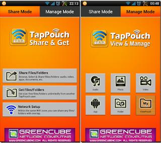TapPouch Wi-Fi Transfer