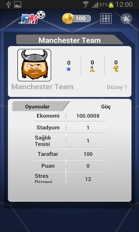 Futbol Menajerlik Oyunu 2014 Android Apk resimi 3