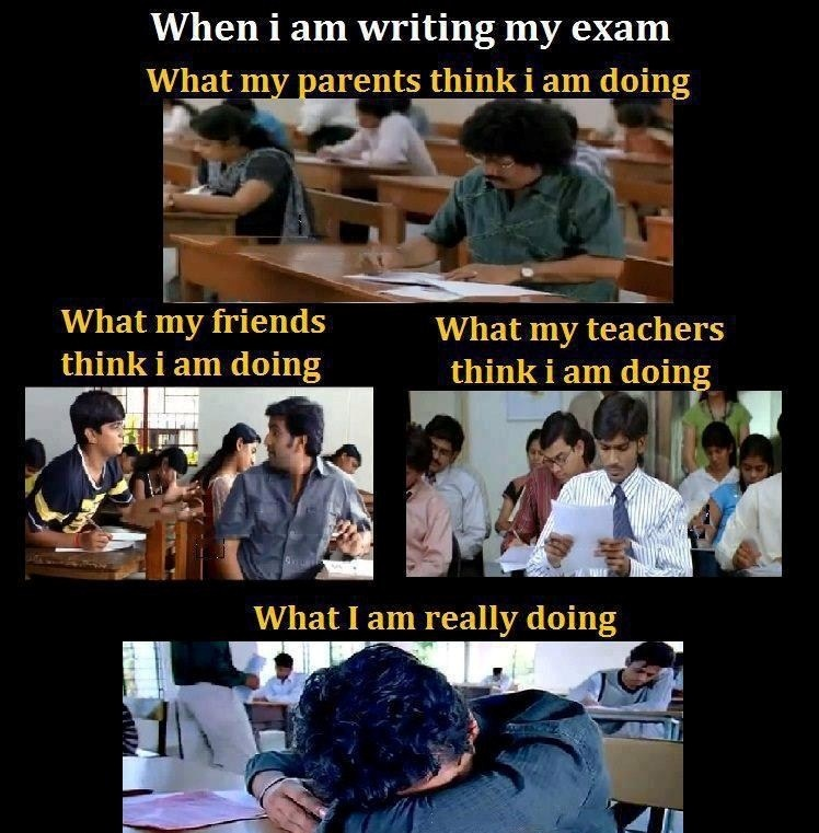 Reality Of My Exam FunnyIndian Picture